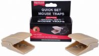 Rentokil Quick Set Mouse Trap (Twinpack)